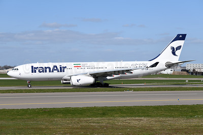 IranAir-The Airline of the Islamic Republic of Iran Airbus A330-243 EP-IJB (msn 1586) AMS (Ton Jochems). Image: 946128.