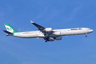 Mahan Air Airbus A340-642 EP-MMR (msn 615) BKK (Michael B. Ing). Image: 936282.