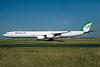 Mahan Air Airbus A340-642 EP-MMQ (msn 449) CDG (Jacques Guillem). Image: 936281.
