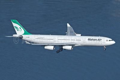 Mahan Air Airbus A340-313 EP-MMD (msn 164) DUS (Rainer Bexten). Image: 943417.