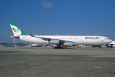 Mahan Air Airbus A340-311 EP-MMB (msn 056) MUC (Jacques Guillem Collection). Image: 936280.