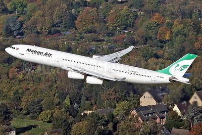 Mahan Air Airbus A340-311 EP-MMB (msn 056) DUS (Rainer Bexten). Image: 939854.