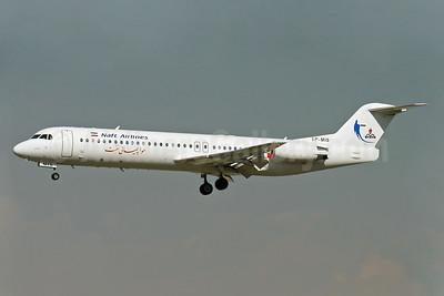 """Naft Airlines Fokker F.28 Mk. 0100 EP-MIS (msn 11503) THR (Shahram """"Shary"""" Sharifi). Image: 904274."""
