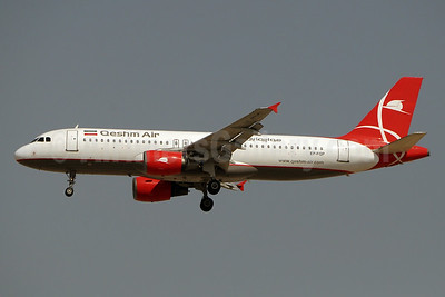 Qeshm Air Airbus A320-214 EP-FQP (msn 607) DXB (Paul Denton). Image: 934166.