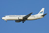 Alnaser Airlines Boeing 737-48E YI-AQS (msn 25765) DXB (Ole Simon). Image: 920132.
