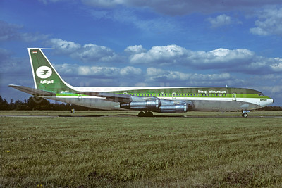 Iraqi Airways Boeing 707-370C YI-AGE (msn 20889) ORY (Jacques Guillem). Image: 929543.