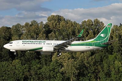 Iraqi Airways Boeing 737-81Z WL YI-ASE (msn 40104) BFI (Duncan Kirk). Image: 912751.