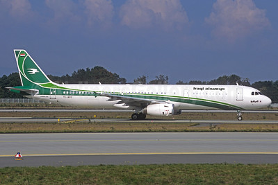 Iraqi Airways Airbus A321-231 YI-AGS (msn 4044) (Jacques Guillem Collection). Image: 926375.