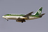 Iraqi Airways Boeing 737-2B7 YI-APW (msn 22885) DXB (Paul Denton). Image: 910104.