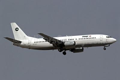 Iraqi Airways (East Air) Boeing 737-4B7 EY-537 (msn 24550) DXB (Reiner Geerdts). Image: 904688.