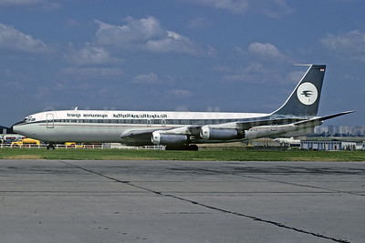 Iraqi Airways (Donaldson International Airways) Boeing 707-321 G-AYVG (msn 17598) (Donaldson colors) LBG (Jacques Guillem Collection). Image: 929546.