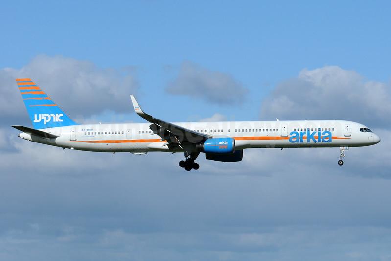 Arkia Israel Airlines Boeing 757-3E7 WL 4X-BAU (msn 30178) AMS (Karl Cornil). Image: 938675.