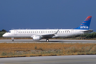 Arkia Airlines Embraer ERJ 190-100LR 4X-EMB (msn 19000616) (Christian Volpati Collection). Image: 936957.