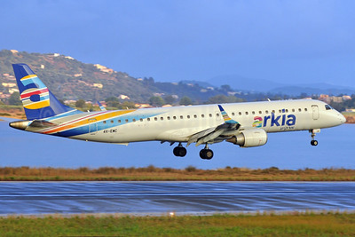 Arkia Airlines Embraer ERJ 190-100LR 4X-EMC (msn 19000713) CFU (Robbie Shaw). Image: 939738.