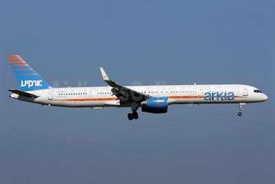 Arkia Israel Airlines Boeing 757-3E7 WL 4X-BAU (msn 30178) AMS (Antony J. Best). Image: 938596.