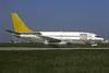 Arkia Israel Airlines Boeing 737-210 4X-BAA (msn 21820) (Wien colors) ORY (Christian Volpati). Image: 907430.