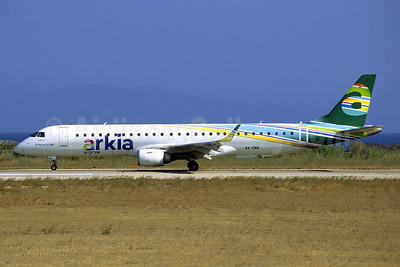 Arkia Airlines Embraer ERJ 190-200LR (ERJ 195) 4X-EMA (msn 19000172) RHO (Jacques Guillem Collection). Image: 945670.