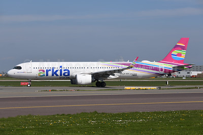 Arkia Airlines Airbus A321-251NX (LR) WL 4X-AGH (msn 8517) AMS (Ton Jochems). Image:  946176.