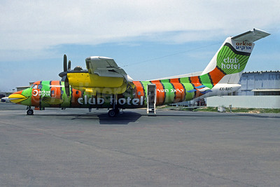 Arkia's 1998 Club Hotel special livery (Parrot Fish)