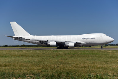 Challenge accepted (Cargo Air Lines - CAL) Boeing 747-412F 4X-ICB (msn 26561) LGG (Ton Jochems). Image: 942810.