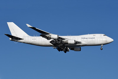 Challenge accepted (Cargo Air Lines - CAL) Boeing 747-4EVF ER 4X-ICA (msn 35172) JFK (Robbie Shaw). Image: 948354.