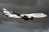 El Al Israel Airlines Boeing 747-412 4X-ELE (msn 26551) LHR (Antony J. Best). Image: 901464.
