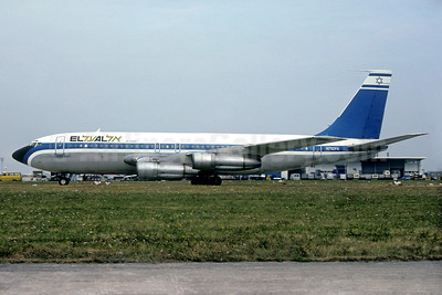 El Al Israel Airlines Boeing 707-138B N792FA (msn 17701) ORY (Christian Volpati Collection). Image: 934278.