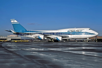 El Al Israel Airlines Boeing 747-458 4X-ELC (msn 27915) EWR (Rob Rindt Collection). Image: 947763.