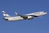 El Al Israel Airlines Boeing 737-86Q WL 4X-EKO (msn 30287) GVA (Paul Denton). Image: 905900.