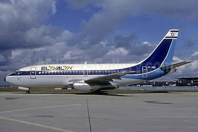 El Al Israel Airlines Boeing 737-2M8 4X-ABL (msn 21736) ORY (Jacques Guillem). Image: 911424.