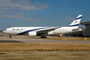 El Al Israel Airlines Boeing 777-258 ER 4X-ECF (msn 36084) LHR. Image: 934298.
