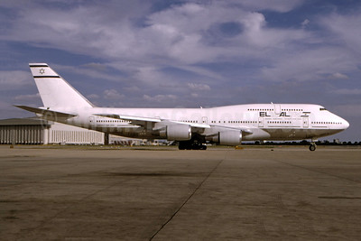 El Al Israel Airlines (Air Atlanta Icelandic) Boeing 747-341 TF-ATH (msn 24106) LHR (SPA). Image: 944713.