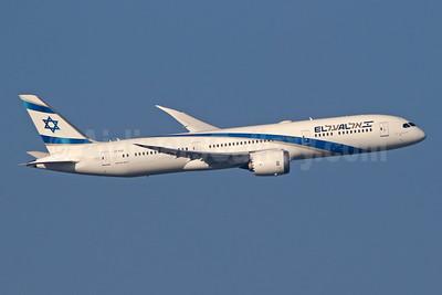 El Al Israel Airlines Boeing 787-9 Dreamliner 4X-EDC (msn 38086) LHR (SPA). Image: 944178.