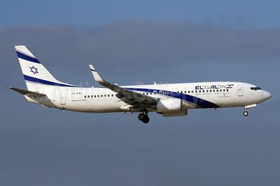 El Al Israel Airlines Boeing 737-85P WL 4X-EKL (msn 35487) LHR. Image: 924584.