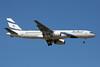 El Al Israel Airlines Boeing 757-258 4X-EBU (msn 26053) MAD (Paul Denton). Image: 909000.