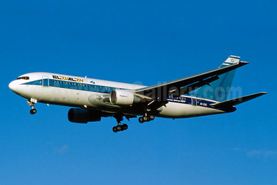 El Al Israel Airlines Boeing 767-258 ER 4X-EAC (msn 22974) LHR (SM Fitzwilliams Collection). Image: 934277.