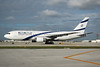 El Al Israel Airlines Boeing 767-27E ER 4X-EAE (msn 24832) MIA (Bruce Drum). Image: 100779.
