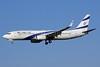 El Al Israel Airlines Boeing 737-8Q8 WL 4X-EKP (msn 30639) ZRH (Paul Bannwarth). Image: 928772.
