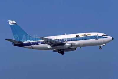 El Al Israel Airlines Boeing 737-258 4X-ABN (msn 22856) ATH (Richard Vandervord). Image: 949084.