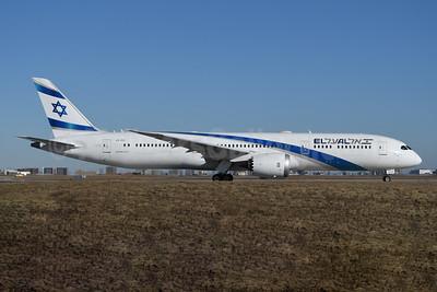 El Al Israel Airlines Boeing 787-9 Dreamliner 4X-EDC (msn 38086) YYZ (TMK Photography). Image: 945306.