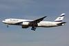 El Al Israel Airlines Boeing 777-258 ER 4X-ECE (msn 36083) LHR (SPA). Image: 925401.
