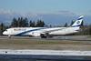 El Al Israel Airlines Boeing 787-9 Dreamliner 4X-EDD (msn 63392) PAE (Nick Dean). Image:   941026.