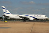 El Al Israel Airlines Boeing 767-258 ER 4X-EAC (msn 22974) LHR (SPA). Image: 935699.