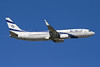 El Al Israel Airlines Boeing 737-86Q WL 4X-EKO (msn 30287) MAD (Ariel Shocron). Image: 902659.