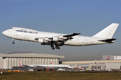 El Al Cargo (El Al Israel Airlines) Boeing 747-245F 4X-AXL (msn 22150) LHR (Antony J. Best). Image: 901463.