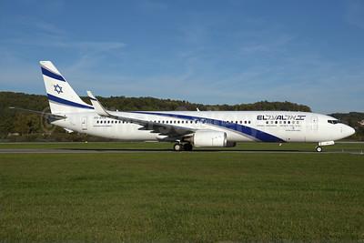 El Al Israel Airlines Boeing 737-958 ER WL 4X-EHA (msn 41552)  ZRH (Rolf Wallner). Image: 939521.