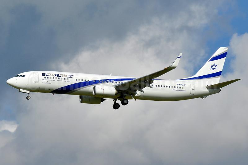 El Al Israel Airlines Boeing 737-958 ER WL 4X-EHF (msn 41557) AMS (Tony Storck). Image: 935919.