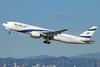 El Al Israel Airlines Boeing 777-258 ER 4X-ECA (msn 30831) LAX (Michael B. Ing). Image: 921491.