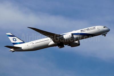 El Al Israel Airlines Boeing 787-9 Dreamliner N1003W (4X-EDC) (msn 38086) PAE (TMK Photography). Image: 940912.