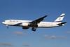 El Al Israel Airlines Boeing 777-258 ER 4X-ECB (msn 30832) LHR (SPA). Image: 930026.